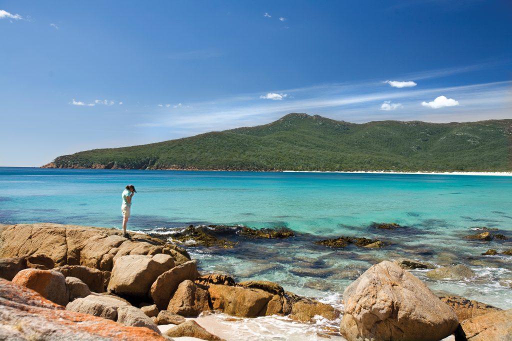 Wineglass Bay on Tasmania's East Coast